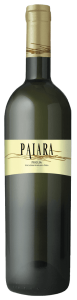 The Paiara Bianco Puglia IGT from Tormaresca glows straw yellow with greenish reflections in the glass. On the nose, floral notes of white flowers and aromas of apple and pineapple unfold, on the palate this white wine presents itself fresh and stimulating, soft and beautifully balanced in taste. Vinification of Paiara Bianco Puglia IGT from Tormaresca This young, easily accessible white wine is produced from Chardonnay, Bombino Bianco and other local white grape varieties. The maturation takes place entirely in stainless steel tanks. Food pairings for Paiara Bianco Puglia IGT from Tormaresca Enjoy this fresh, uncomplicated white wine from Apulia to crustaceans, light SAlaten and grilled fish at about 10°C tempered. Ideal as bakett wine, for a picnic on the beach with friends and family.