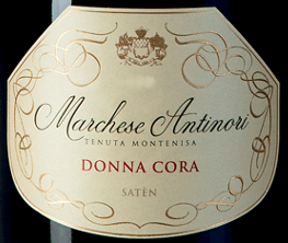 The Marchese Antinori Donna Cora Satèn Millesimé Franciacorta DOCG by Tenuta Montenisa of Marchesi Antinori is a vintage segment that is produced only in the best vintages. The Donna Cora Satèn Millesimé Franciacorta DOCG shines in pale straw yellow in the glass with very delicate golden reflections, the dense, creamy foam is formed by a very delicate and sustainable perlage. The bouquet invites generously with fine aromas reminiscent of flowers and white fruit, especially white peach, multifaceted and very appealing. On the palate, this Satèn Franciacorta delights with its full-bodied character, elegance and complexity, complemented by a beautiful, lively freshness. The finale is full of harmony, balanced, fine and sustainable. Vinification of the Marchese Antinori Donna Cora Satèn Millesimé Franciacorta DOCG by Tenuta Montenisa This Spumante Satèn Metodo Franciacorta is vinified from 100% Chardonnay from the estate's vineyards and expresses the richness and versatility of the Chardonnay grape . All the grapes are pressed directly gently. The first must from this pressing is subjected to alcoholic fermentation in a stainless steel tank and in small barriques. In the spring of the following year after the harvest, the wine begins malolactic fermentation and ageing on the fine yeasts in the bottle for over 60 months. Food recommendations for the Marchese Antinori Donna Cora Satèn Millesimé Franciacorta DOCG by Tenuta Montenisa Enjoy this exquisite Satèn Millesimé as an aperitif or as an ideal accompaniment to pasta with fish, fish from the oven and light meat.