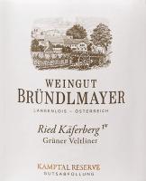 Vorschau: Grüner Veltliner Käferberg 2018 - Bründlmayer