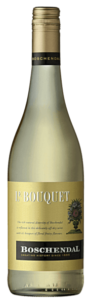 This Cuvee is a complex and harmonious arrangement with a delicate sweetness. The nose of the Classics offers Le Bouquet of Boschendal with tropical fruits, peach and pineapple and spicy undertones and floral aromas. This Bianco with the outstanding lively character is a wonderful addition to curries and other spicy food.