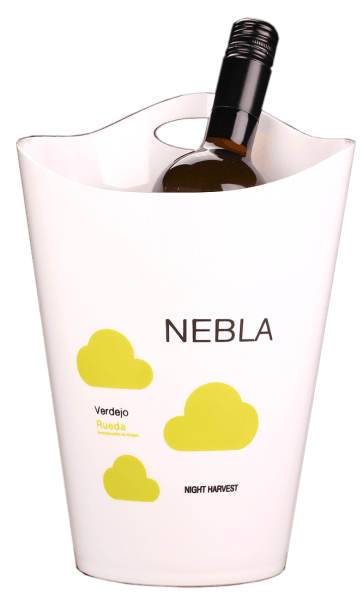 Nebla cooler made of acrylic - white Delivery without bottle ;)