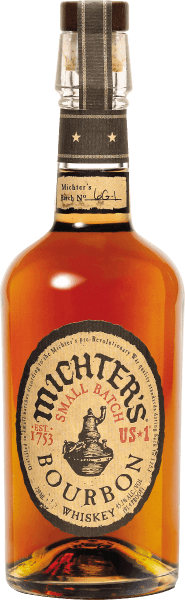 The Michter's US*1 Bourbon Whiskey is a real jewel from the American whiskey core region of Kentucky. Distilled in small bubbles, this lace bourbon comes into the glass with radiant caramel clay and spreads wonderful notes of caramel and butterscotch, complemented by dried fruit such as apricot and nuances of vanilla and noble white oak. The taste of Michter's US*1 Bourbon Whiskey small batch enchants with incredible softness, great fullness and remarkable complexity. The finish of this bourbon is balanced with oak aromas and nuances of raisins and plums.  Serving recommendation for the Michter's US*1 Bourbon Whiskey Enjoy this magnificent bourbon neat and without ice in a nosing glass as a digestif, with roasted nuts, salty crackers and chocolate.