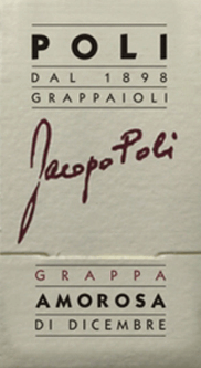Jacopo Poli's Amorosa di Dicembre is a velvety, aromatic grappa torcolato distilled from the pomace of Friulano and Vespaiolo. In the glass, this pomace brandy is presented in a clear, transparent color. The aromatic bouquet is carried by notes of exotic, sweet fruits, dried fruits and raisins. With a soft body and velvety texture, this grappa takes the palate. The aromatic depth gives this grappa its wonderful finesse. Jacopo Poli gave this grappa the name Beloved of December (Amorosa di Dicembre). Because in December, the grapes for the Torcolato dessert wine are hung for drying. Distillation of Jacopo PoliAmorosa di Dicembre The marc of Torcaloto dessert wine is traditionally distilled in old copper burners. After the firing process, this grappa still has 75% by volume. By adding distilled water, this pomace brandy reaches an alcohol content of 40% by volume. Then this grappa rests for a total of 6 months in stainless steel tanks, then gently filtered and filled onto the bottle of Murano glass. Serving recommendation for the Amorosa di Dicembre Jacopo Poli Grappa At a serving temperature of 10 to 15 degrees Celsius, this Italian marc brandy best unfolds its wonderful aromas. Hand over this grappa as a digestif, with desserts or simply as a soloist.