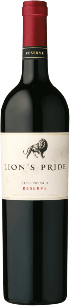 The Lion's Pride Reserve Stellenbosch by KWV sparkles in a dense garnet red in the glass. Its unique fragrance of ripe berry aromas (black currant, raspberry, blueberry) and cherries, accompanied by sweet caramel, bitter chocolate and sweet and tangy cinnamon fills the nose. On the palate, this South African appears opulent and full-bodied with the powerful, concentrated fruit of the bouquet and smooth, ripe tannins. The structure is extremely silky and at the same time tight. An elegant and long finish rounds it off. Vinification for the Lion's Pride Reserve Stellenbosch This wine is composed of 52% Cabernet Sauvignon, 36% Merlot and 12% Shiraz and matured for 12 months in American oak barrels. He is full of power, elegance and suppleness and enjoys a high reputation among his peers. All those attributes that also identify the lion that is depicted on the label. Food recommendation for the Lion's Pride Reserve Enjoy this red wine from South Africa with game poultry, grilled meat, roasts and cheese.