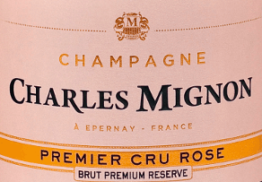 Champagne Brut Rosé Premier Cru is a speciality of the house of Champagne Charles Mignon. The flowery, fruity champagne in the glass is beautifully salmon-coloured. It combines subtle yeast notes and aromas of fresh red fruit with subtle notes of yeast, leaving the palate delicate and balanced. The elegant composition of 45% Pinot Noir, 20% Pinot Meunier and 35% Chardonnay is irresistible. The house Charles Mignon looks back on more than 100 years of champagne tradition. Bruno Mignon represents the latest generation and produces a rosé, which is highly esteemed in top gastronomy in Lyon, Nice and Paris. Food recommendation for the Champagne Charles Mignon Brut Rosé Premier Cru Champagne Brut Rosé Premier Cru is a charming aperitif and an elegant companion of finger food, fish and seafood. Awards for the Champagne Rosé by charles Mignon Concours international de Lyon: Gold medalGilbert and Gillard: Gold MedalInternational Wine Challenge: Bronze Medal
