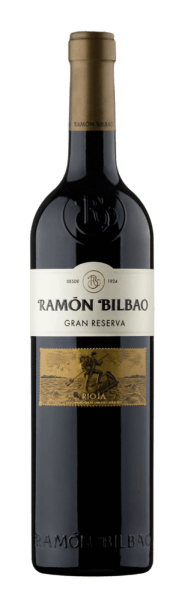 The Rioja Gran Reserva DOCa by Ramón Bilbao presents scih with a dark red in the glass. On the nose it shows a complex, very intense bouquet, with the aromas of ripe, red fruits and perfectly integrated roasted notes of the barrique finish. On the palate, this Spanish cuvée is tasteful, body-rich, full-bodied and wonderfully balanced. Harmonious and spicy tannins lead into a long, powerful and elegant finale. Vinification of the Rioja Gran Reserva DOca of Ramón Bilbao This red wine is a great top wine from Ramón Bilbao. It is vinified from 90% Tempranillo and 5% each from Mazuelo and Garnacha, two traditional grape varieties from the Rioja wine-growing region. The wine is aged in American oak barriques for 30 months after fermentation. After bottling, it matures for another 36 months in the bottle, for a perfect balance of the cuvée. Food recommendation for the Rioja Gran Reserva DOCa of Ramón Bilbao Enjoy this dry red wine with fine meat dishes or mature cheese.