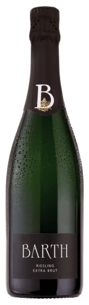 The Barth Riesling extra brut b.A. from the wine and sparkling wine estate Barth reveals itself in a white shade in the glass and unfolds the wonderfully fresh aromas of citrus and apricots, which are accompanied by a fine spice. On the palate, this sparkling wine from the Rheingau delights with its fine perlage and the notes of white peach and pineapple. This characterful Riesling convinces with its fine structure, the length and breed and the absence of residual sweetness. A Riesling sparkling wine for lovers! Vinification for the Barth Riesling extra brut Only fully ripe and hand-picked Riesling grapes are used for this pure sparkling wine. These are gently pressed as whole grapes and sprinkled according to the method of traditional bottle fermentation. This sparkling wine matures for 2 years on the yeast and is shaken regularly by hand. Food recommendation for the Barth Riesling extra brut Enjoy this Riesling sparkling wine as an aperitif, picnic or crostini with artichoke cream or tapenade. Awards for the Barth Riesling extra brut Gault Millau 2015: 88 points