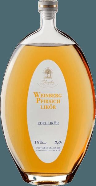 Weinbergpfirsich-Likör XXL 3,0 l - Brennerei Ziegler