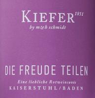 Vorschau: Die Freude teilen 2018 - Weingut Kiefer