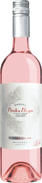 The Alta Colleción Rosado by Bodega Piedra Negra is presented in a bright shiny pink with glittering highlights.  This Argentine rosé exudes a fresh bouquet with fresh aromas of citrus fruits, crisp apples and juicy peaches. Fine notes of red berries and a floral hint of violet accompany this. On the palate, this rosé wine is wonderfully fresh and lively with a perfect interplay of fruit and acidity. A very charming wine with a fresh, medium aftertaste.  Food recommendation for Piedra Negra Alta Colleción Rosado Serve this dry rosé wine from Argentina chilled as an aperitif or with crisp salads and freshly grilled vegetables. A wonderful terrace wine that can be enjoyed with family and friends.