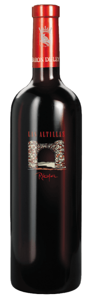 The Las Altillas by Barón de Ley has a strong, lush taste of red fruits, tobacco and spices, without being intrusive. The red wine matures not only in barrels of American oak, but also partly in French oak barrels. Before filling the wine is only slightly filtered and presents itself as modern and high-class Rioja wine. This wine is very good storage, but can also be drunk young.