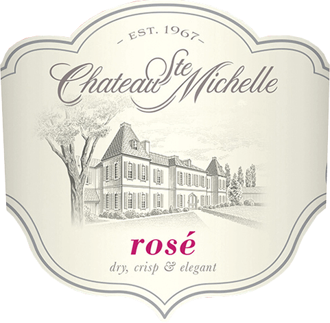 The Ste Michelle Rosé by Chateau Ste. Michelle is the youngest wine in the product family of this historic winery.  In the glass, this wine from the Columbia Valley shines light pink, almost pink. Fresh summer aromas of juicy watermelons, ripe red berries (especially strawberry and raspberry) and summer-ripe citrus fruits unfold in the noses. On the palate, this American rosé is very juicy, fruity, dry with round, elegant body. The finale offers freshness and a pleasantly long reverberation.  Vinification of Ste Michelle Rosé For this rosé from Chateau Ste. Michelle in Washington State, the Syrah grape varieties (98%) and a small proportion of Merlot (2%) are harvested early and fermented in a cool stainless steel tank. This preserves the fruitiness of the grapes and gives this wine its summery freshness and juiciness. Food recommendation for the Rosé Chateau Ste. Michelle  Enjoy this elegant rosé from North America as an aperitif, with light appetizers, light meat and fish or as a fresh summer wine on the terrace with friends.