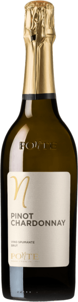 The Pinot Chardonnay brood by Ponte Viticoltori comes with a light yellow and greenish reflections in the glass. Its bouquet fragrance is floral with delicate, fruity aromas reminiscent of lemon peel, orange blossom and a hint of juniper blossom. The palate of Ponte Pinot Chardonnay is fresh and powerful. In the finish, this spumante from northern Italy is very lively and determined by a long reverberation. Vinification of the Ponte Pinot Chardonnay This spumante from Ponte would be vinified 40% from Chardonnay and 60% from Pinot Bianco, Pinot Blanc. The basic wines are matched to each other in an optimum ratio and the spumante is produced by the Charmat process. Food recommendation for the Pinot Chardonnay brood by Ponte Viticoltori This Pinot Chardonnay Brut by Ponte from Veneto is an excellent aperitif and goes well with light dishes with light meat.