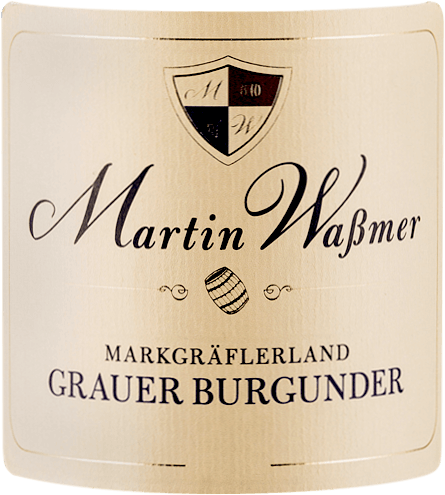 The Grauburgunder SW trocken by Martin Waßmer comes into the glass with elegantly bright golden yellow and citrus yellow reflections and reveals ripe apple, crisp pear fruit, some roast apple and other yellow fruits to the nose. Spicy notes of fresh hazelnuts, butter pastries, toffee and some vanilla. On the palate, Martin Waßmer's Grauburgunder SW is clear, juicy and full-bodied. This Pinot Blanc is a dense white wine with a lot of power and power, which has a distinct creaminess. Vinification of Martin Waßmer Grauburgunder SW The Grauburgunder selection wines are produced with an area yield of only 35 to 40 hectolitres per hectare and aged in French oak barriques. The grapes for this Pinot Noir come from layers of limestone covered with clay and loess. Food recommendation for Grauburgunder SW by Martin Waßmer Enjoy this powerful wine with pork medallions with cream sauce, poultry with braised vegetables or just like that.