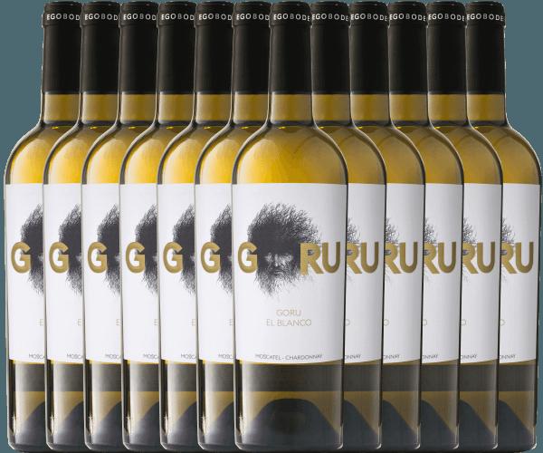 12er Vorteils-Weinpaket - Goru El Blanco 2019 - Ego Bodegas