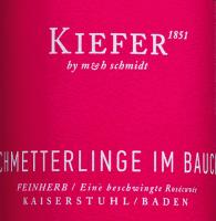 Vorschau: Schmetterlinge im Bauch Rosé 3,0 l Bag in Box Weinschlauch 2019 - Weingut Kiefer