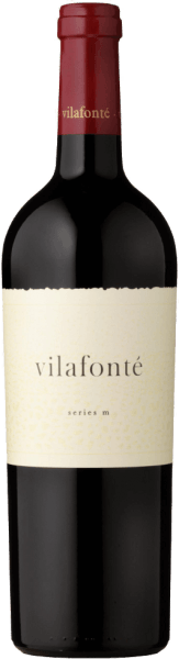 Vilafoné's Vilafonté Series M is a Merlot dominated blend with a velvety and intense bouquet. In the glass it appears crimson red and spoils the palate with a complex fruit aroma from black cherry to raspberry jam and prune. During the ripening period of 18 months in French barriques, a wonderful oak tannin and a roasted note were perfectly integrated in the finish. The M-Series stands for a cuvée dominated by Merlot and Malbec. Food recommendation for the Vilafonté Series M This South African is a wonderful companion to Coq au Vin and meat dishes such as Beef Wellington. Awards for the Vilafonté M Series Robert Parker: 91 points Wine Spectator: 90 points Tim Atkin: 94 points