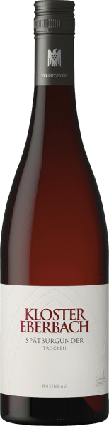 The Spätburgunder trocken from Kloster Eberbach is a wonderful classic red wine from the German wine-growing region Rheingau. In the glass this wine appears in the typical bright red with light transparency. This elegant and reserved Pinot Noir sprays fine aromas of cherries and blackberries as well as an almost sweet cassis scent. A hint of dark chocolate as well as discreet spices and herbs round off the bouquet. On the palate this German red wine convinces with a juicy, polished fruit fullness, which harmonizes wonderfully with the fine acidity and the subtle tannins. The finish has a good length and nutty wood nuances. Food recommendation for the Kloster Eberbach Spätburgunder Enjoy this dry red wine from Germany with all kinds of stews with dark sauce and hearty side dishes, with Coq au Vin or with strong fish dishes.
