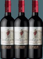 3er Vorteilspaket Ribet Red Cabernet Sauvignon Merlot 2019 - Arrogant Frog