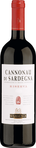 The Cannonau di Sardegna DOC Riserva from Sella & Mosca is in a bright ruby red and warm color. With age, this red wine from Sardinia develops a complex and elegant bouquet reminiscent of violets. The aromatic notes of the wood finish complete the scent. On the palate the Cannonau di Sardegna DOC Riserva is warm, dry and harmonious with plums in the background, which is underlined by fine wood notes. Vinification for the cannonau di Sardegna Riserva of Sella & Mosca Cannonau is the most famous grape variety in Sardinia and is also known as Grenache or Alicante. The Cannonau vine finds ideal conditions for its growth both on the warm, sandy soils of the Sardinian coast as well as in the rough, rocky mountain country in the interior of the country. In Sella & Mosca winery it is cultivated in the south-eastern region, where the Gregale, coming from the northeast, blows. The ripened and crushed grapes are subjected to cold leaching for at least 3 days to allow extraction of the dyes and tannins from the skins, which favor the process of long storage in oak barrels. The fermentation at a temperature of 25-28 ° Celsius takes about 12 days. The red wine is stored for two years in traditional Slavonian oak barrels, after a further expansion in the bottle, the wine reaches its full maturity. Food recommendation for the Cannonau di Sardegna Riserva of Sella & Mosca Enjoy this dry red wine with dishes of venison, beef or pork. Before drinking, the Cannonau di Sardegna should be uncorked 2 hours before or filled into a carafe.