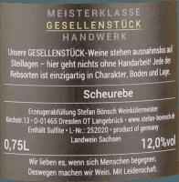 Vorschau: Scheurebe 2020 - Stefan Bönsch