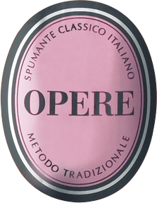 The Opere Rosé Brut Opere Trevigiane Spumante Metodo Classico Italiano by Villa Sandi reminds in the glass of the pink of the peach blossoms. It presents a filigree, persistent perlage. On the nose the Rosé Brut unfolds an elegant bouquet with notes of raspberries, black currants and hints of rosehip and rose blossoms. Full-bodied, fruity and fresh on the palate, with graceful perlage. The long harmonious aftertaste make this Rosé Brut from Veneto a wonderful experience. Vinification of the Opere Rosé Brut Opere Trevigiane For this Italian Rosé Brut from Veneto, 100% Pinot Noir grapes were vinified and after the Metodo Classico Italiano matured 36 months in the bottle on the yeast. Finally, the wine is disgorged to remove the remaining yeast from the sparkling wine, with some spumante, the so-called Dosage refilled, and sealed with champagne corks. Food pairing for the Opere Rosé Brut of Opere Trevigiane Taste this fruity Rosé Brut from Veneto as an aperitif, or to salmon in herbal crust, or quite uncomplicated on a balmy summer evening on the terrace.