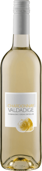 The Chardonnay Valdadige DOC by Cantina Valdadige presents itself with an intense straw yellow and greenish reflections in the glass and enchants with its delicately fragrant bouquet, which exudes the wonderful aromas of apples and peach. This Chardonnay from Trentino is a refreshing and light wine that appeals to the palate with its uncomplicated and pleasant style. Food recommendation for the Chardonnay Valdadige DOC by Cantina Valdadige Enjoy this dry white wine as an aperitif, with appetizers and tapas, pasta with light sauces, poultry and veal or with cheese. Awards for the Chardonnay Valdadige DOC by Cantina Valdadige Berliner Winetrophy: Gold (vintage 2013) Mundus Vini: Silver (vintage 2013)