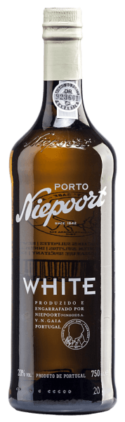 In the glass, Niepoort's White Port reveals itself in a beautiful dark golden shade. This port is vinified from the Arinto, Códega, Gouveio, Rabigato, Viosinho and other white Portuguese grape varieties. This port wine fills the nose with a fresh aroma of nuts and hints of dried fruit. This port nestles semi-dry on the palate and reflects the optimal interaction with the brandy, which gives this port wine its outstanding structure. Food recommendation for the White Port of Niepoort Try this semi-dry port wine as an aperitif with iced tonic (1/3 port and 2/3 tonic), as an accompaniment to desserts (pastries, cakes, chocolate) or as a digestif.