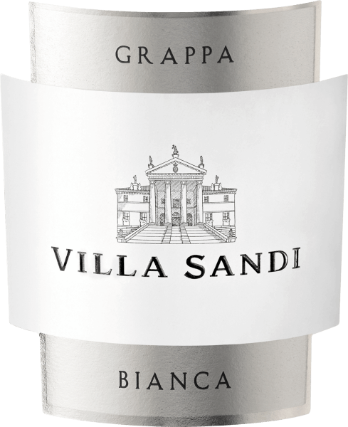 The white, classic Grappa Bianca Superiore by Villa Sandi is crystal clear in the glass. In the nose very fine and yet intense and pleasant, it delights with an elegant aroma. Its soft, harmonious, elegant and round taste unfolds in the mouth. It was bottled in a beautiful and individualized Bordeaux bottle with Villa Sandi relief.