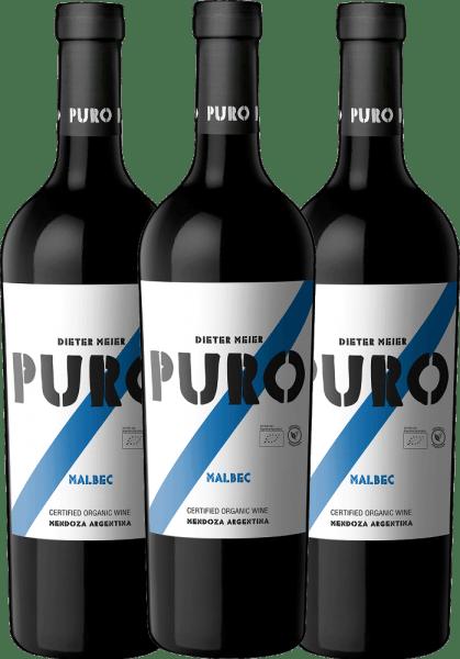 3er Paket Puro Malbec 2019 - Dieter Meier