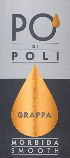 The Po' di Poli Morbida by Jacopo Poli is a soft (morbida), full-bodied grappa distilled exclusively from the marc of the Moscato grape (100%). In the glass, this grappa presents itself in a clear, transparent color. The bouquet reveals wonderful aromas of juicy, sun-ripened citrus fruits and orange blossoms. On the palate, as the addition morbida suggests, this grappa is wonderfully soft with full-bodied body. The fine fruit aroma of the nose is skilfully reflected in the taste. Distillation of Jacopo Poli Po' di Poli Morbida The still fresh marc of the Moscato grape is traditionally distilled in old copper burners. After the firing process, this grappa still has 75% by volume. By adding distilled water, this pomace brandy reaches an alcohol content of 40% by volume. This grappa then rests in stainless steel tanks for a total of 6 months, after which it is gently filtered and filled onto the bottle. Serving recommendation for the Morbida Po' di Poli Jacopo Poli Enjoy this grappa at a temperature of 10 to 15 degrees Celsius gerna as a fine digestive of a delicious menu.