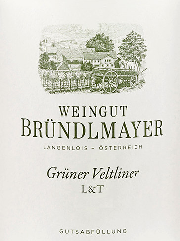 The Grüner Veltliner L&T from Bründlmayer from the Austrian wine growing region Kamptal is a light and dry white wine - hence the abbreviation L&T (in German leicht und trocken). In the glass this wine shines in a bright straw yellow with greenish highlights. The aromatic bouquet smells of juicy citrus fruits - especially lemon and grapefruit - crisp green apples and apricot. Flowery hints of field flowers and a hint of hazelnut add to this. On the palate this Austrian white wine convinces with a lively, hearty, fresh and juicy personality. The racy acidity harmonises wonderfully with the lush fruitiness of the nose. In addition there is the classic pepperli of the Grüner Veltliner. The finish is very aromatic, yet remains pithy, slim and lively. Food recommendation for the Bründlmayer Grüner Veltliner L&T Enjoy this dry white wine from Austria chilled well as a refreshing aperitif. Or serve this wine with all kinds of light starters - such as salads and fresh seafood.