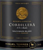 Vorschau: Cordillera Sauvignon Blanc 2018 - Miguel Torres Chile