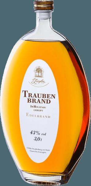 Traubenbrand Holzfass XXL 3,0 l - Brennerei Ziegler