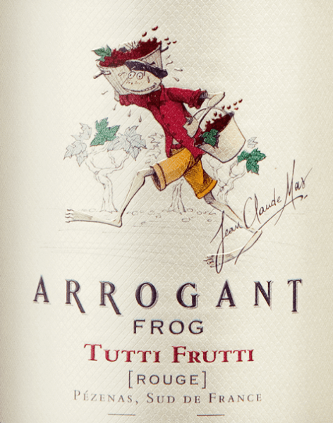 In the glass, the Tutti Frutti Rouge from Arrogant Frog offers a bright crimson color. There is also a colour transition to violet at the edge. The first nose of the Tutti Frutti Rouge shows notes of shady morals, mulberries and blueberries. The fruity components of the bouquet are accompanied by vanilla, cocoa bean and bitter chocolate. This French wine impresses with its elegantly dry taste and was put on the bottle with only 1.9 grams of residual sugar. This is a real quality wine that stands out clearly from simpler qualities and so this Frenchman naturally enchants with the finest balance in all dryness. Taste doesn't necessarily need a lot of residual sugar. On the palate, the texture of this balanced red wine is wonderfully dense. Due to the balanced fruit acid, the Tutti Frutti Rouge flatters with pleasant palate without letting it miss freshness at the same time. In the finish, this storable red wine from the wine-growing region delights the Languedoc with its considerable length. Again, there are echoes of mulberry and shadow morals. In the reverberation, mineral notes of the soils dominated by clay and limestone are added. Vinification of the Tutti Frutti Rouge by Arrogant Frog This balanced red wine from France is made from Cabernet Franc, Cabernet Sauvignon, Garnacha, Merlot, Mourvèdre and Syrah grape varieties. The grapes grow under optimal conditions in Languedoc. Here the vines dig their roots deep into soils of clay, limestone and gravel. The Tutti Frutti Rouge is an Old World wine through and through, because this Frenchman breathes an extraordinary European charm that clearly underlines the success of wines from the Old World. After harvesting, the grapes reach the winery in the fastest way. Here you are selected and gently ground. Fermentation is then carried out in a stainless steel tank and concrete at controlled temperatures. The fermentation is followed by ageing for a few months on the fine yeast before the wine is finally bottled. Food reco