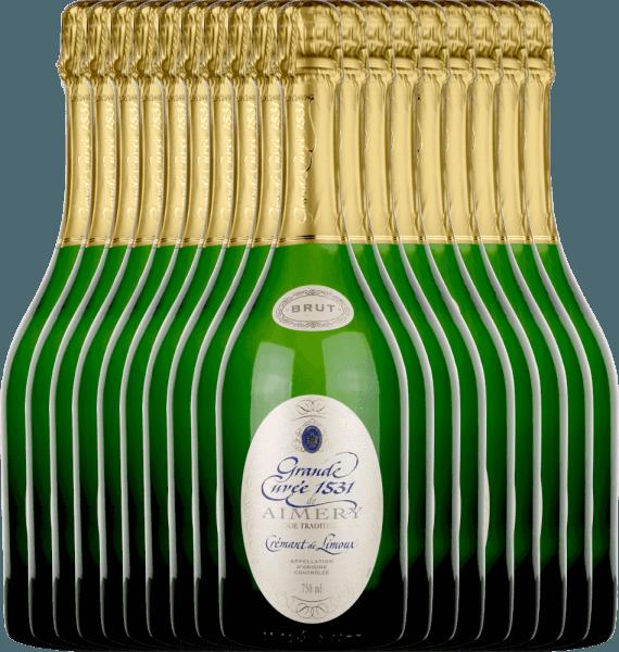 18er Vorteilspaket - Aimery Grande Cuvée 1531 Crémant Brut - Sieur d'Arques