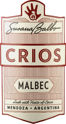 The Crios Malbec from Susana Balbo is an excellent, grape varietal and balanced red wine from the Argentine wine region of Mendoza.  In the glass, this wine shimmers in an appealing dark red with violet highlights. The expressive bouquet reveals notes of juicy blackberries, ripe cherries and crushed blueberries - subtly accompanied by floral notes of violet and vanilla. On the palate, this wine has a wonderful balance between the dark fruit fullness and the silky tannin structure. The balanced body can be wonderfully absorbed by the fresh character of this Argentinian red wine. The finale comes with a pleasant length.  Vinification of Susana Balbo Crios Malbec After the careful harvesting of the Malbec grapes in the vineyards of Susana Balbo in Mendoza, the harvested goods are immediately taken to the wine cellar. At a controlled temperature, the mash is fermented in the stainless steel tank. This wine undergoes a maceration of 25 days. Finally, this red wine matures for 10 months in French oak barrels.  Food recommendation for Malbec Susana Balbo Crios This dry red wine from Argentina is just the right wine for cozy barbecues with the family and friends. But also with classic burger dishes with sweet potato chips a real treat.  Awards for Crios Malbec by Susana Balbo Decanter: 93 points for 2017 Descorchardos: 90 points for 2017 James Suckling: 90 points for 2017 Robert M. Parker - The Wine Advocate: 90 points for 2017