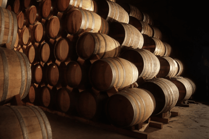 In the Castagner's cellar