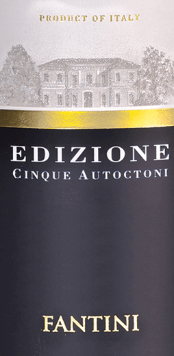 The Edizione Cinque Autoctoni from Farnese Vini reveals itself in the glass in a deep garnet red. If we hold the nose deep into the large Bordeaux glass, delicious aromas of ripe dark cherries, black currants and other dark fruits such as plums and blackberries unfold. Nuances of herbs, cinnamon, cloves, cocoa and liquorice complete the bouquet. A mineral hint underlines the bouquet of Cinque Autoctoni perfectly. Farnese's Edizione Cinque Autoctoni is a delight to the palate with its great structure and excellent balance between fullness and freshness. Velvety tannins give this red wine an excellent structure. In the long finish again much fruit and mineral nuances. Vinification of Edizione Cinque Autoctoni This cuvée is composed of the Montepulciano, Primitivo, Sangiovese, Negroamaro and Malvasia Nera grape varieties. After the harvest and the gentle maceration of the grapes, the fermentation takes place over a period of 25 days. The malolactic fermentation and the 13-month aging take place in barriques. Recommended food for the Edizione Cinque Autoctoni Enjoy this dry red wine with hearty starters, red meat or medium mature and mature cheese. Awards for the Farnese Cinque Autoctoni Bibenda: 5 grapes for 2017 Luca Maroni: 99 points for 2017, 2016, 2015 and 2014 Berlin Wine Trophy: Gold for 2016 and 2014 AWC Vienna International Wine Challenge:Gold for 2016 AWC Vienna International Wine Challenge: Silver for 2015 Decanter: Silver for 2015 Mundus Vini: Silver for 2015
