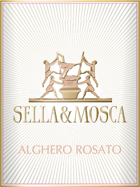 The Sella & Mosca Rosato appears in the glass in a beautiful cherry red, with floral notes, complemented by the bouquet of this cuvée of fruity aromas of red berries, cherries and ripe plums. On the palate, this rosé wine is dry, fresh and balanced. It convinces with pleasant sensations from the already perceived fruit aromas. Vinification for the Rosato Sella & Mosca This cuvée consists of the grape varieties Cannonau and Sangiovese. The Alghero DOC is located in the province of Sassari in the flat part of Nurra, in the north-west of Sardinia. The climate of the island is mediterranean with lots of sunshine. The vines grow on limestone, clay and sandy soils, which are ferrous. The grapes are de-stripped, which means they are freed from stems and stalks, mashed and macerated at controlled temperature for 15 hours. Subsequently, the must is stripped off and temperature-controlled fermented. Food recommendation for the Sella & Mosca Rosato Enjoy this dry rosé wine with appetizers, fish soup and poultry.