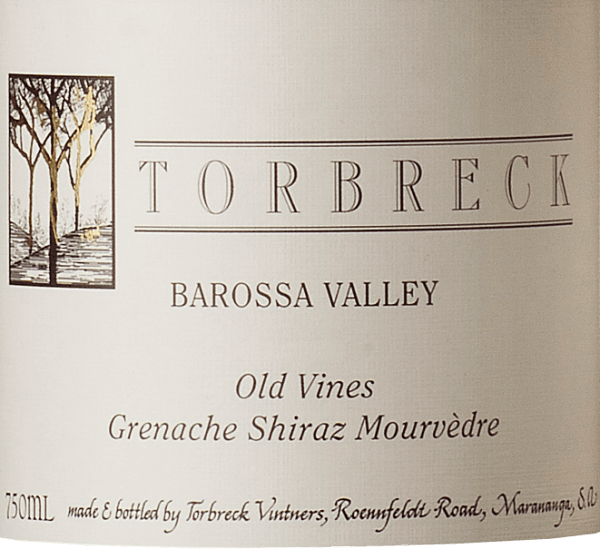 The Old Vines GSM by Torbreck Vintners shows up in a dense dark red in the glass. The bouquet of this cuvée seduces with the aromas of black cherries, crème de cassis and fine hints of liquorice and Mediterranean herbs. This Australian cuvée is firm on the palate with persistent fruit, which is accompanied by subtle leather and wood. The finale is wonderfully long and has a spicy note. This red wine from Torbreck convinces all the senses with its fruity, spicy and full-bodied character. Vinification of the Torbreck Old Vines GSM The Grenache (62%), Shiraz (22%) and Mourvedre (16%) grapes for this enchanting cuvée come from vines 40 to 50 years old. After the fermentation process, this red wine is aged in French oak barrels for 24 months. Food recommendation for the Old Vines GSM Torbreck Vintners Enjoy this dry red wine with French cuisine, steaks, grilled dishes, stews or spicy cheeses.