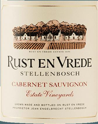 Estate Vineyards Cabernet Sauvignon Stellenbosch WO 2018 - Rust en Vrede von Rust-en-Vrede