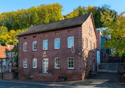 Das alte Brennerei-Gebäude