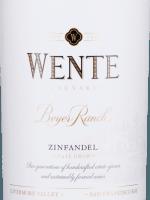 Vorschau: Beyer Ranch Zinfandel 2018 - Wente Vineyards