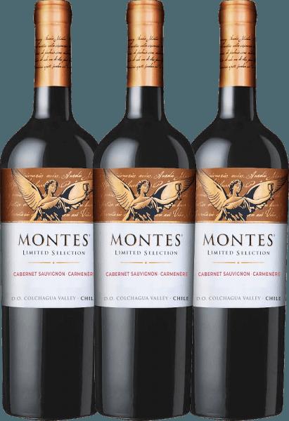 3er Vorteils-Weinpaket - Limited Selection Cabernet Sauvignon Carmenère 2020 - Montes