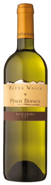 The Pinot Bianco by Elena Walch presents itself in the glass with a clear and bright straw yellow, unfolding its fruity bouquet, which is dominated by fresh apples and nuances of nuts. These aromas are underlined by discreet herbs. On the palate this white wine convinces with its elegant, mineral richness, the lively acidity and its fresh finish. Vinification for the Pinot Bianco by Elena Walch The vineyards are located in Tramin and Caldaro, these areas are characterized by their mild climate and, on the south side of the Alps, very Mediterranean climate. About 1800 hours of sunshine every year and maximum temperatures of up to 30 ° Celsius offer the perfect conditions for winegrowing. Immediately after the harvest, the grapes are gently pressed, then the fresh must is clarified at low temperatures and fermented in the steel tank. The young wine matures for several months in the steel tank on the fine yeast. Food recommendation for the Pinot Bianco by Elena Walch Enjoy this dry white wine as an aperitif or with light meals with fish and poultry. Awards for the Pinot Bianco by Elena Walch (vintage 2014) Gambero Rosso: 2 black glasses Veronelli: ** (87 points)