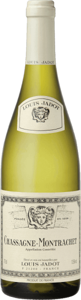 In a bright golden yellow, the Chassagne Montrachet AOC by Louis Jadot shines in the glass. The aromatic bouquet of the wine pampers with fresh hazelnut, exotic fruit, honey and a subtle wood note. The strong and robust taste convinces with a chunky and rich fruit of expressive aroma. The mineral finish is long lasting. A wonderful wine with grilled scallops, lobster and fine fish (poached, cooked in mussel stock, with fine cream sauce). Matured vintages also harmonize wonderfully with fried goose stuffing liver or spicy cheese (Munster, Comté, mature Brie).