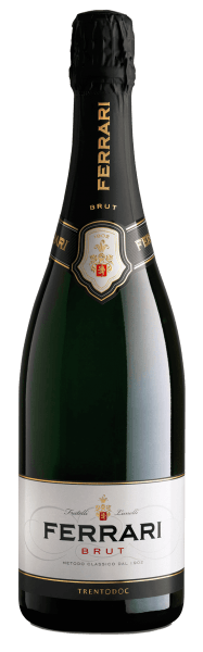 This sparkling wine symbolizes the history of the Ferrari winery and has been vinified in the Trentino region since 1902.The Ferrari brood by Ferrari presents itself in a straw yellow color with greenish shades in the glass. The bouquet of this spumante is intense and exudes aromas of yeast, field flowers and Golden Delicious apples. In terms of taste, it impresses with harmony, suppleness, clarity and notes of fresh bread and ripe fruits. Awards for  Ferrari Brut  Trentodoc by Ferrari winereview online: 90 pointsWine Spectator: 90 pts. & smart buy forWine Enthusiast: 90 pts.Gambero Rosso: 2 glasses each in the gamba. Rosso 2010 - 2014Bibenda: 4 grapes