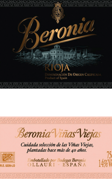 """This Vinas Viejas Rioja grape variety from Beronia comes from the famous Spanish region of Rioja. This wine shimmers in a deep dark plum colour with a black core. The expressive bouquet is determined by aromas of ripe plums, juicy shade morals and blackberries. The aromas of the nose are underlined by roasted coffee, liquorice and some spice The dark fruit is also clearly noticeable on the full-bodied palate. The juicy, fleshy texture harmonizes perfectly with the wonderful freshness and balanced structure. The long-lasting finale is accompanied by a hint of mint. Vinification of the Beronia Reserva Mazuelo The Tempranillo grapes for this Spanish red wine come from more than 50 years old vines. As soon as the harvested material arrives in the wine cellar, the grapes are first cold mashed for a few days. After cold maceration, alcoholic fermentation takes place at a controlled temperature of 26 degrees Celsius in a stainless steel tank. The mash is pumped around regularly. As a result, oxygen is supplied to the mash, which softens the tannins and also allows the colour pigments, as well as the wonderful variety of aromas, to develop perfectly. Malolactic fermentation is carried out on this wine in French oak barrels. This also contributes to this wine gaining its deep dark color and typical aromas. For a total of 7 months, this Spanish wine is then aged in """"mixed"""" barrels - these barrels were specially made for the Bodegas Beronia and consist of both American and French oak. Finally, this red wine rests on the bottle for 6 months after bottling. Food recommendation for the Rioja Mazuelo Reserva of Beronia This dry red wine from Spain is the ideal accompaniment to cozy barbecues with freshly grilled meat, spicy pies or Spanish sausage and ham specialities."""