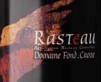 Vorschau: Rasteau AOC 2018 - Domaine Fond Croze